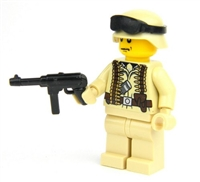 Ww2 German Africa Corps Officer Wehrmacht Minifigures