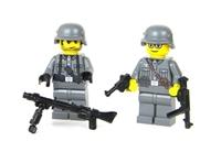 Ww2 German Mg Team Minifigures