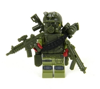 Special Forces Commando Olive Green Minifigure