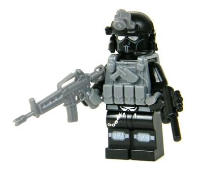 Cia Ghost Paramilitary Commando Minifigure