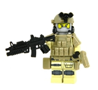 Army Special Forces Tan Heavy Assault Commando Minifigure