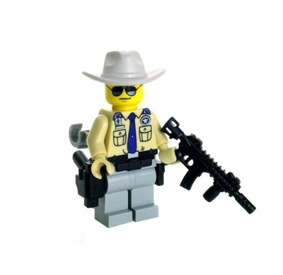 Texas Highway Patrol Minifigure