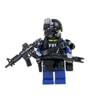 Fbi Swat Critical Incident Response Cirg Officer Minifigure