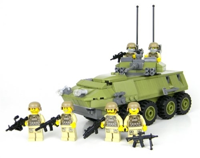 Deluxe Green Marine Lav 25