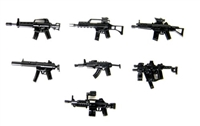 Weapons Pack V2 Army Guns Minifigures