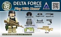 Army Airborne Delta Force Weapons Pack (8 Pieces)
