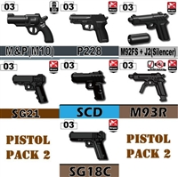 Pistol Pack V2 Minifigures
