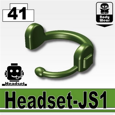 Tank Green Minifigure Tactical Headset