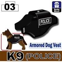 Direct Printed K9 Police Dog Tactical Body Armor