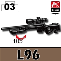 L96 Special Forces Sniper Rifle