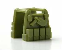Light Olive Green Minifigure Tactical Vest P1
