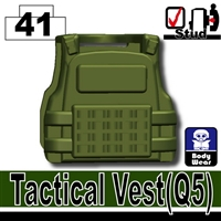 Minifigure Tactical Vest Q5 Army Green