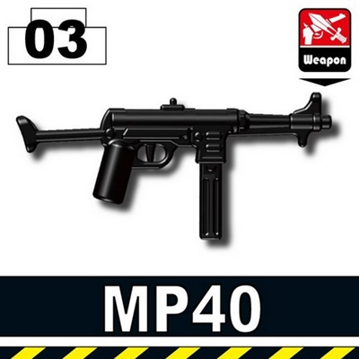 German Ww2 Mp40 Smg