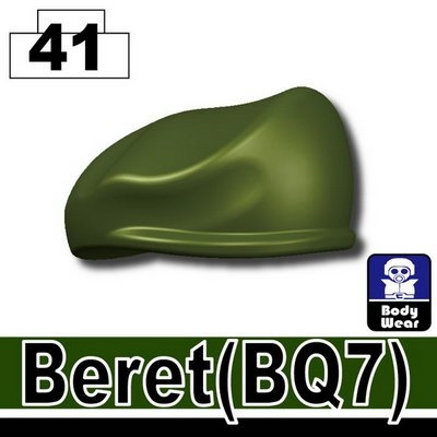 Green Beret Minifigure Hat