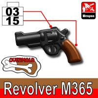 Overmolded M365 Pistol Revolver