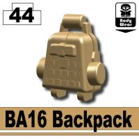 Dark Tan Ba16 Assault Backpack