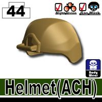 Dark Tan Ach Tactical Helmet