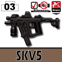 Skv5 Assault Rifle Vector Sub Machine Gun