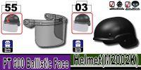 Police Swat Tactical Riot Helmet W/ Visor