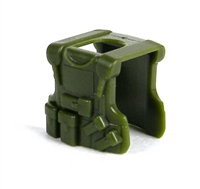 Tank Green Minifigure Tactical Vest B20