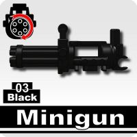 Minigun With Rotating Barrels