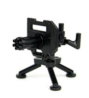 Minigun With Tripod Mount Machine Gun