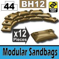 Bh12-2 Dark Tan Sandbags