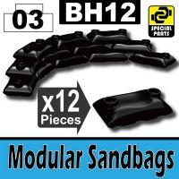 Bh12-4 Black Sandbags