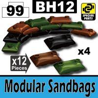 Bh12-5 Camo Sandbags