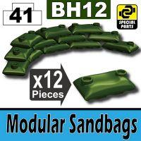Bh12-6 Tank Green Sandbags