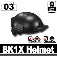 Tactical Assault Helmet Bk1X Black
