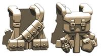 Us Ww2 Dark Tan Rifleman Field Gear Minifigure