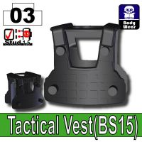 Black Tactical Vest Bs15 Minifigure