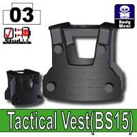Black Tactical Vest Bs15 Minifigure