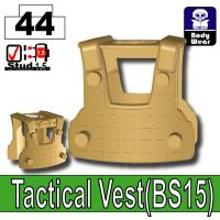 Dark Tan Tactical Vest Bs15 Minifigure