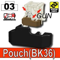 Black Tactical Pistol Holster Bk36 Minifigure