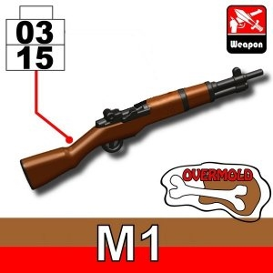 Overmolded M1 Garand Ww2 Rifle
