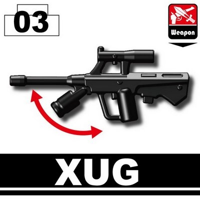 Xug Minifigure Assault Rifle