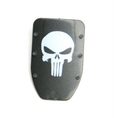 Skull Shield With Handle N7