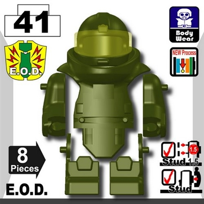Tank Green Eod Bomb Suit