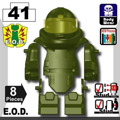 Tank Green Eod Bomb Suit