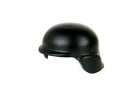 Black Modern Combat Minifigure Helmet