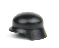 Black Stahlhelm WW2 German Minifigure Wehrmacht Helmet