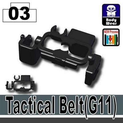 Black G11 Tactical Belt