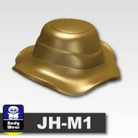 Dark Tan Minifigure Boonie Hat Jungle Cap