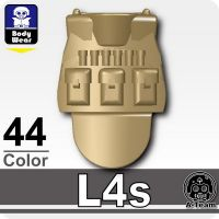 L4S Dark Tan Minifigure Tactical Vest