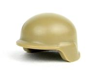 Dark Tan Minifigure Modern Combat Army Helmet