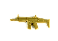 Dark Tan Scar Minifigure Assault Rifle