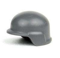 Gray Minifigure Modern Combat Army Helmet