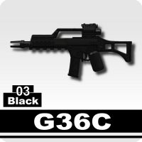 G36 Minifigure Assault Rifle